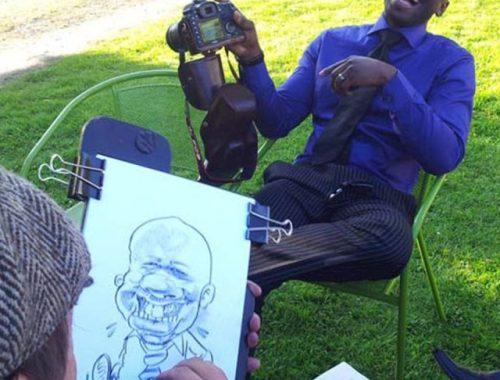 Caricaturiste événements