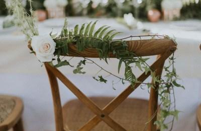 Chaises Mariage champêtre