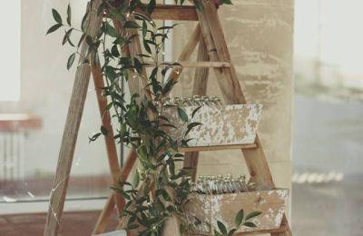 Décorations cérémonie champêtre